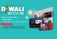 Diwali With MI Sale 2019